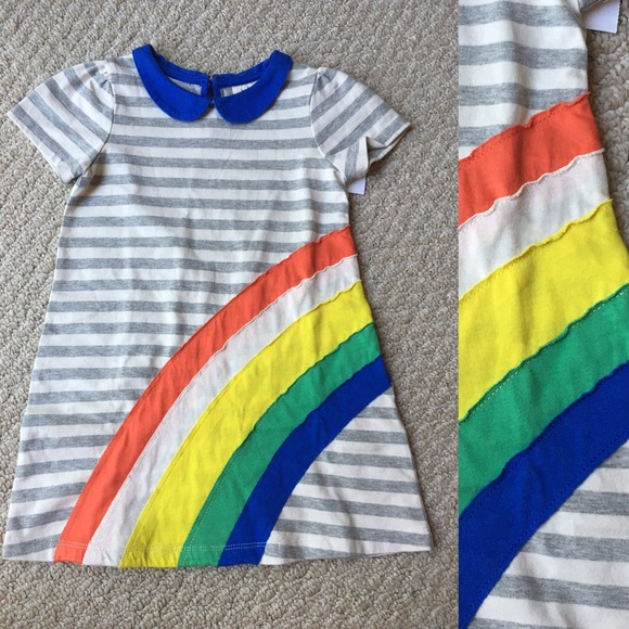 59fd4eb5f1e8 Mini Boden Dresses | Boden Rainbow Dress | Poshmark