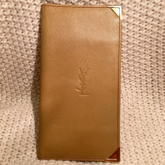fa00aa52901 Rare Vintage Yves St Laurent Checkbook/Wallet. M_57a3db95f0137d3584008f02