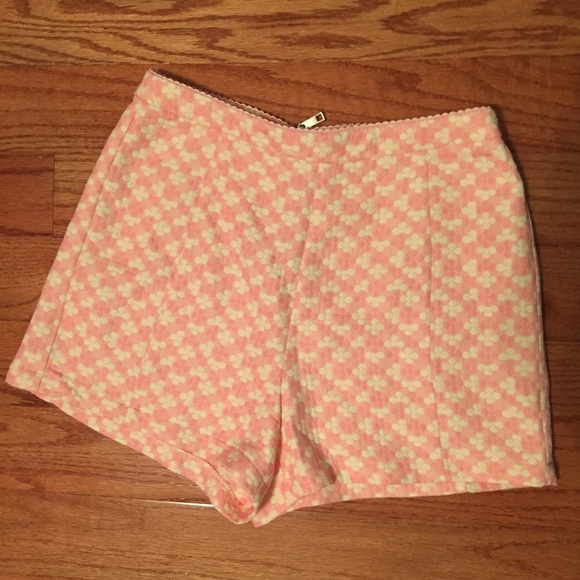 61% off Forever 21 Pants - Light pink high waisted shorts from ...