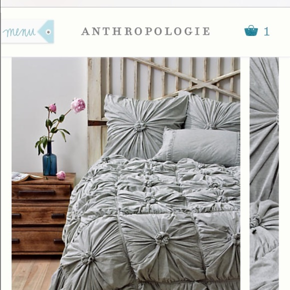 Anthropologie Other Rosette Quilt Twin Xl Twin Poshmark