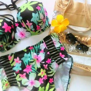 Boutique Other - LAST 1 XL HPx2 Plus Size High Waist Swim Suit