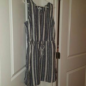 Old Navy striped dress.