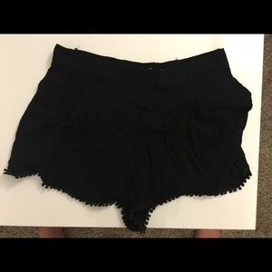 Urban Outfitters black Ecote shorts