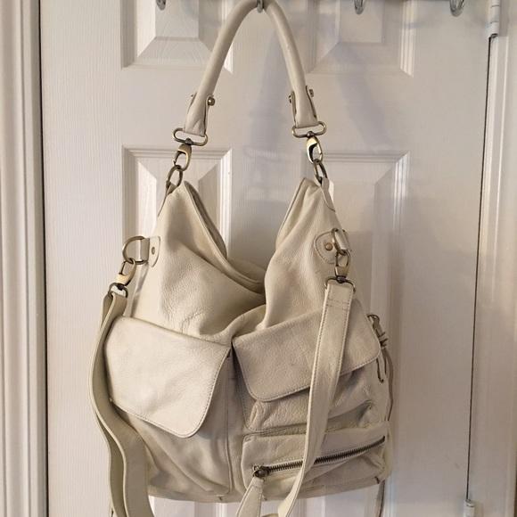 Cape Cod Leather Handbags - Cape Cod Leather Company White Satchel Bag 21ebc105a65a6
