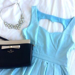 Tea n Cup Dresses & Skirts - 🎉 HP 🎉 Light Blue Classic Heart Dress