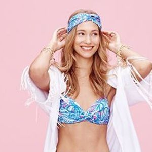 Lilly Pulitzer for Target Accessories - Lilly Pulitzer for Target Turban Headband My Fans