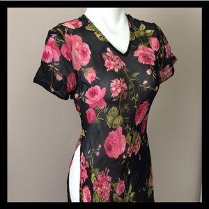 American Angel Dresses & Skirts - Pink Rose Maxi Dress