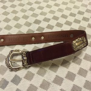 Fossil Accessories - Fossil Leather Belt