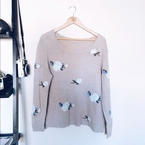 Wildfox Sweaters - Oversized flower sweater