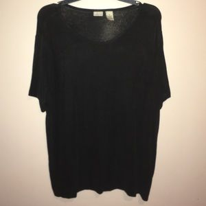 Linden Tops - Plain black shirt