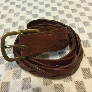 Ralph Lauren Accessories - Ralph Lauren Brown Leather Belt for Men