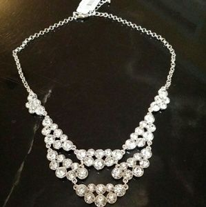 Charter Club Jewelry - Clear Crystal Statement Necklace for Wedding
