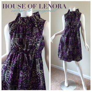 Anna Sui Dresses & Skirts - 🔴FLASH SALE🔴 ANNA SUI Purple Dress