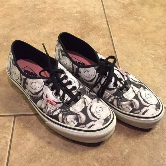 14450a15b1 Vans Shoes - Flower Vans
