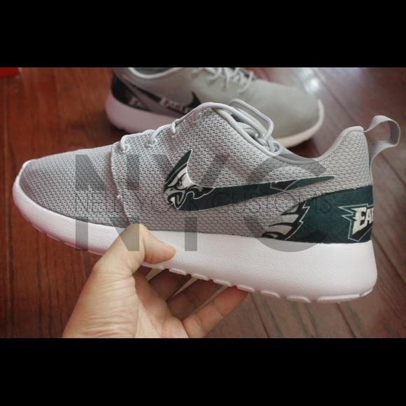 Nike Shoes Philadelphia Eagles Roshe One Custom Men Poshmark