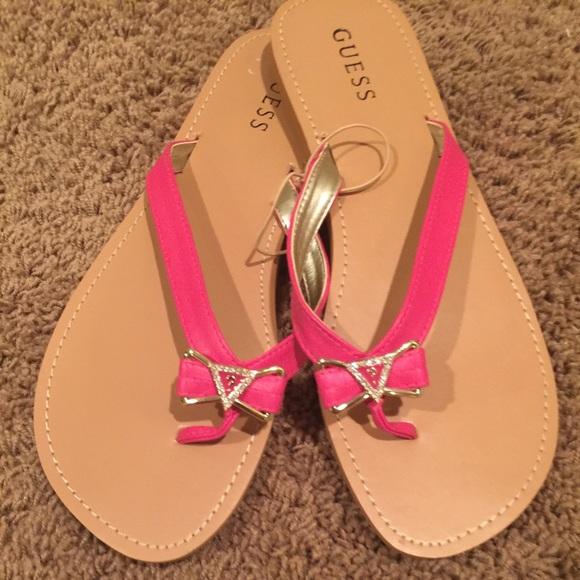 baf5d4e193b9 GUESS Shoes - 🎀Pink Guess Sandals🎀
