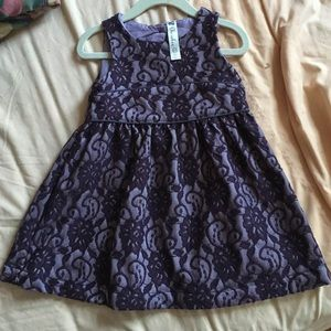 Toddler jacquard style Cherokee dress