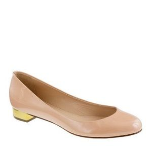 Gold-heeled J.Crew shoes