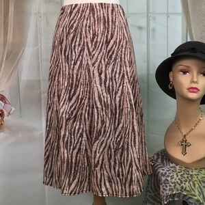 Kim Rogers Dresses & Skirts - Kim Rogers Brown Long Skirt
