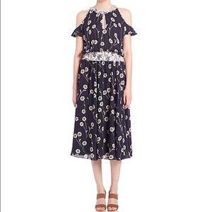 Derek Lam Dresses & Skirts - Derek Lam Crosby Floral Cold Shoulder Dress sz 6