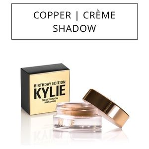 Kylie Cosmetics Other - Kylie Cosmetics Birthday Copper Cream Eyeshadow