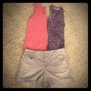 LOFT Pants - Loft bundle 1 tank  1 pair shorts
