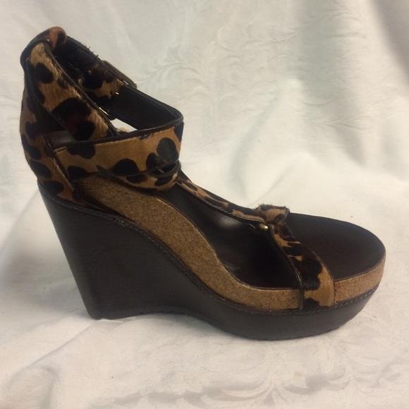 tory burch leopard print sandals