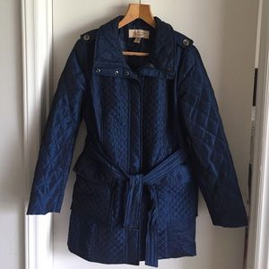 Jackets & Blazers - ❣️Covington quilted navy blue jacket❣️