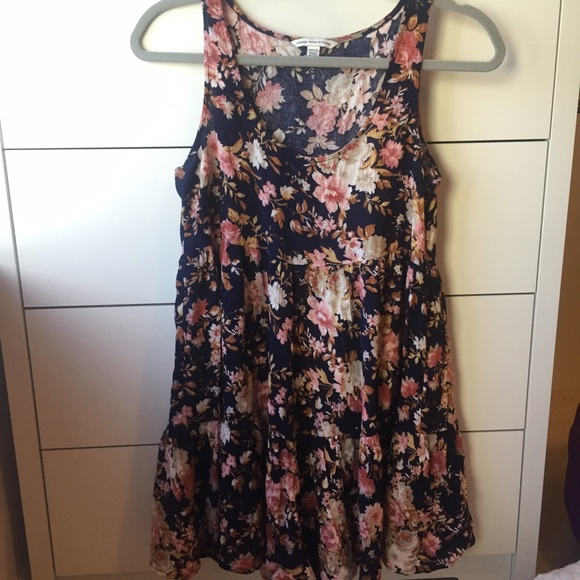American Eagle Outfitters Dresses   Skirts - American Eagle Tiered Babydoll  Dress 5d01dc496