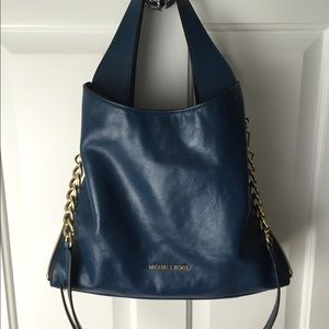 Michael Kors Devon shoulder bag - Steel Blue