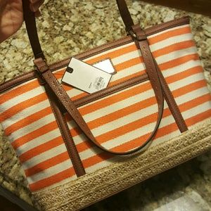 Dana Buchman Handbags - Espadrille Tote bag / Dana Buchman