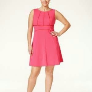 Love Squared Dresses & Skirts - Coral dress.    (DS1)