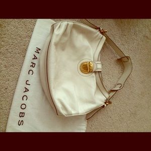 Marc Jacobs ivory leather bag