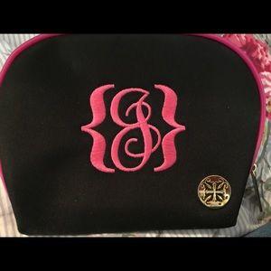 Cantarelli Handbags - Rustic cuff cosmetic bag initial j