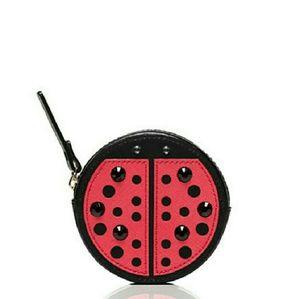 kate spade Handbags - Kate Spade Turn Over a New Leaf Ladybug Coin Purse