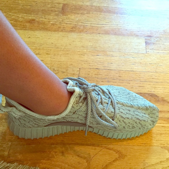 check out c91f9 2921b Grey knock off yeezys