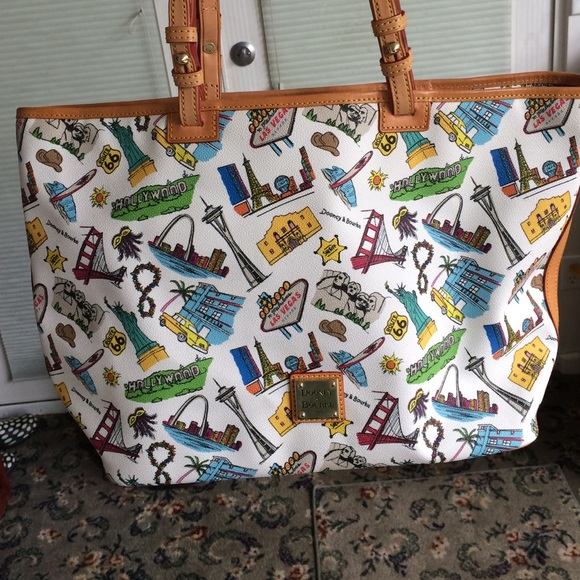 19bc9d80c8 Dooney   Bourke Handbags - Dooney   Bourke Americana Leisure Shopper