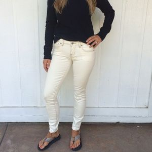 BB Dakota Denim - White skinny jeans