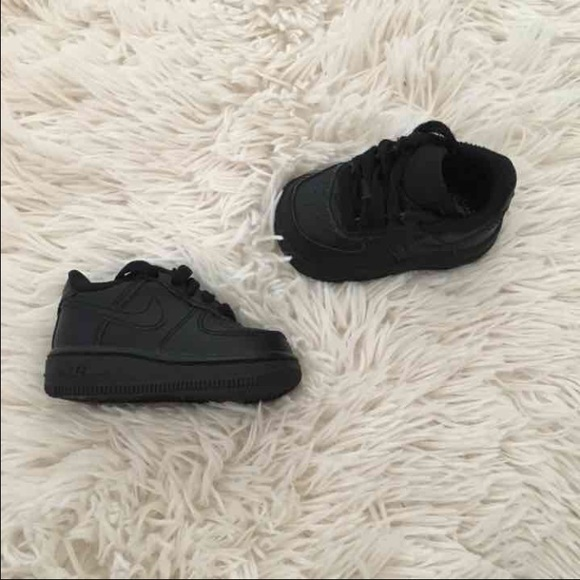 6f950779104f8 Nike Shoes | Air Force 1 Baby Black | Poshmark
