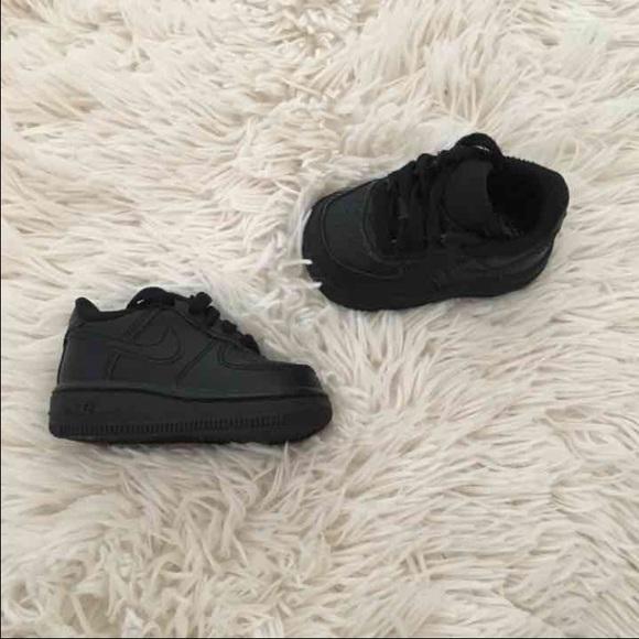 Nike Air Force 1 baby black
