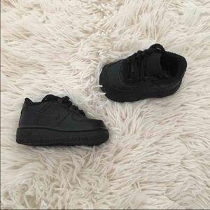 Nike Shoes   Nike Air Force Baby Black