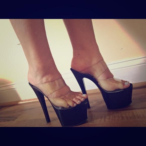Pleaser Shoes | Pleaser Striper Heels