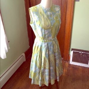 Vintage Multicolor Dress