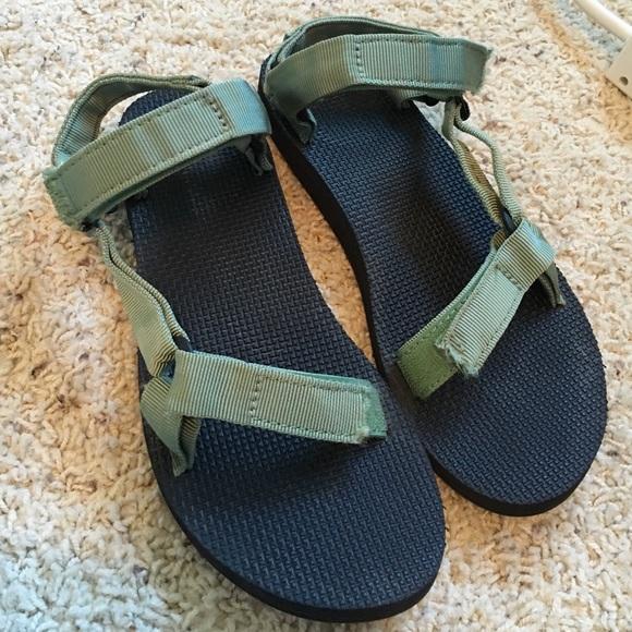Teva Shoes   Green Tevas   Poshmark