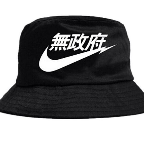 e5236fe45b35e ... czech rare nike air bucket hat japanese chinese 1df2f 33b17
