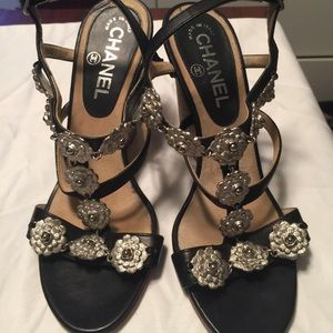 Authentic Chanel Wedges!