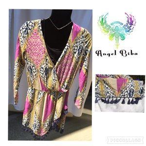Angel Biba Dresses & Skirts - ♨️Super Hot ♨️ Angel Biba Tassel Fringe Dress