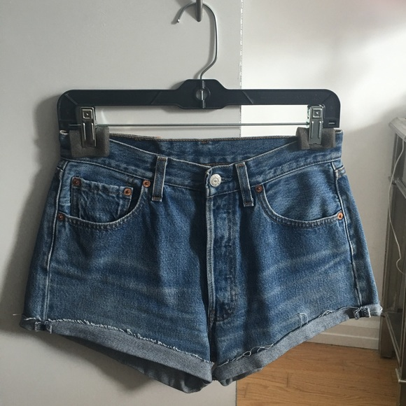 Levi's Shorts - Vintage Levi's 501 Cut Off Shorts 29/26