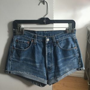 Vintage Levi's 501 Cut Off Shorts 29/26