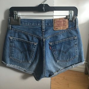 Levi's Shorts - Vintage Levi's 501 Cut Off Shorts 29/26